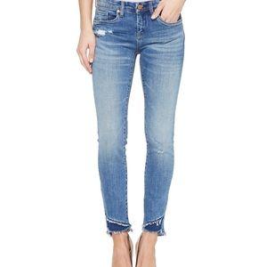 28 BlankNYC Classique Raw Hem Distressed Jeans